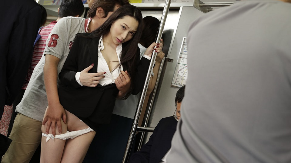 Caribbeancom 061920-001 Kichikawa Ren Beautiful Office Lady In The Train