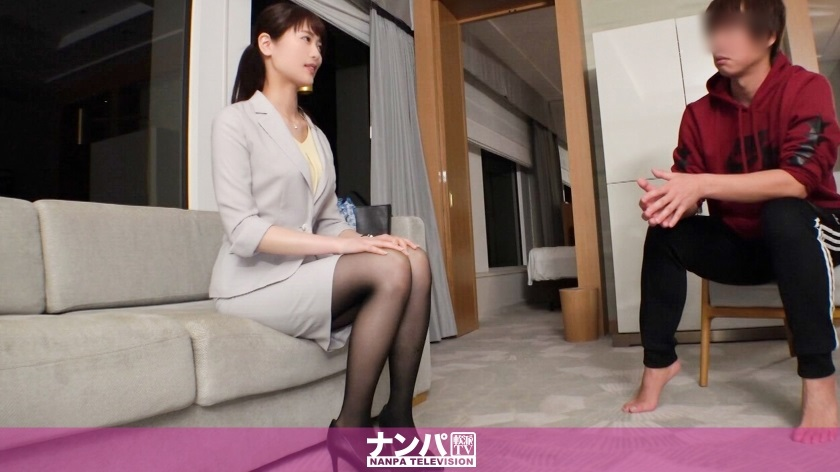 200GANA-2076 beautiful secretary who is as if it is puzzled to three years kiss and allows her body as it is Reo 23 years old secretary