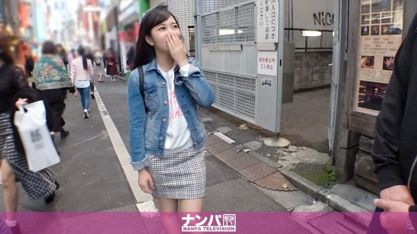 200GANA-2217 A 19-year-old female college student found in Shibuya, fishing with tapioca, interview appearance OK