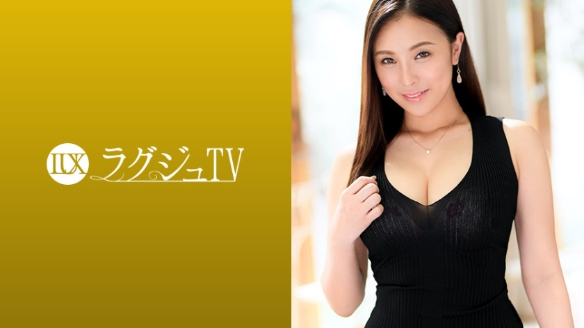259LUXU-1073 Raguju TV 1071 touch Tsu beautiful golf trainer standing excited about