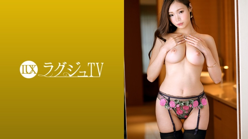 259LUXU-1205 Beautiful busty producer who can no longer control the overflowing sexual desire again appears