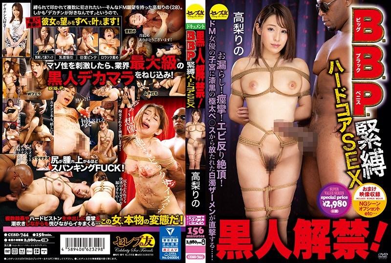 CESD-744 Black Ban!BBP (Big ・ Black ・ Penis) BDSM Hardcore SEX Takanashi's