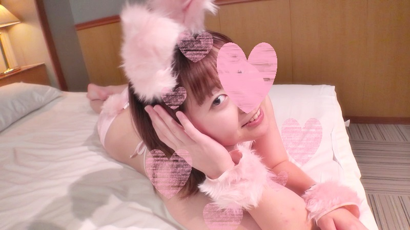 FC2 PPV 1142219 Individual shooting demon cute Once allowed to cosplay to Mei chan rabbit marshmallow BODY