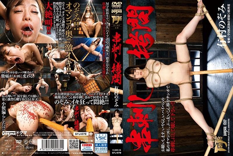 GTJ-079 Skewered Torture Arimura Nozomi