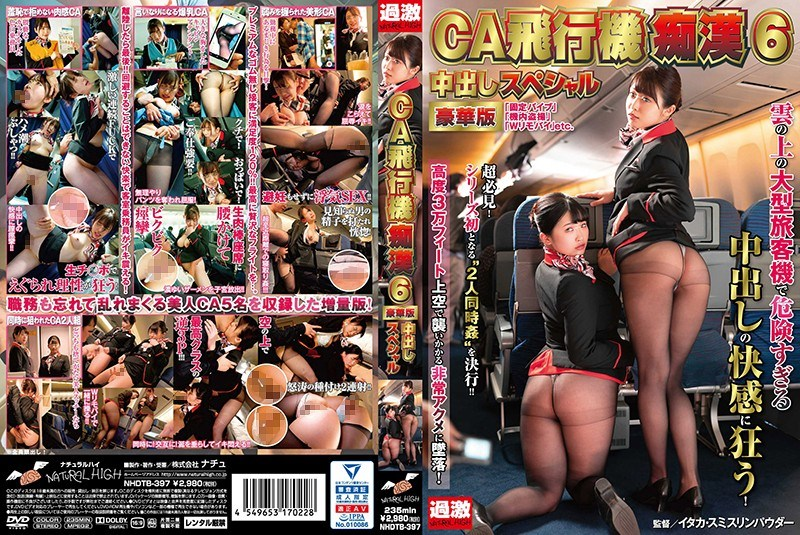 NHDTB-397 The Cabin Attendant And The Airplane Pervert 6 Deluxe Edition Creampie Specials