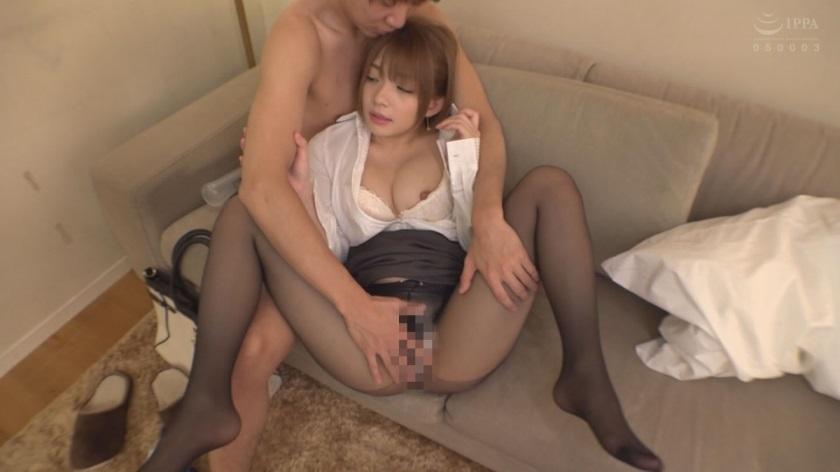 ORE-340 Rika sucking a big hard dick by her big boobs
