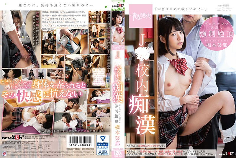 SDAB-065 J ○ Compulsive Inside School Forcibly Under Circumstances Where It Can Not Make Voices Hashimoto Natsumoto