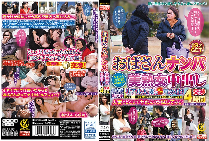 YLWN-036 Aunt Nanpa Beautiful Woman Naked Negotiation 4 Hours